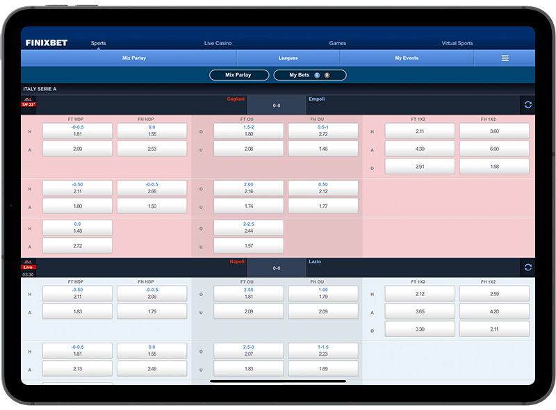 sports betting system software